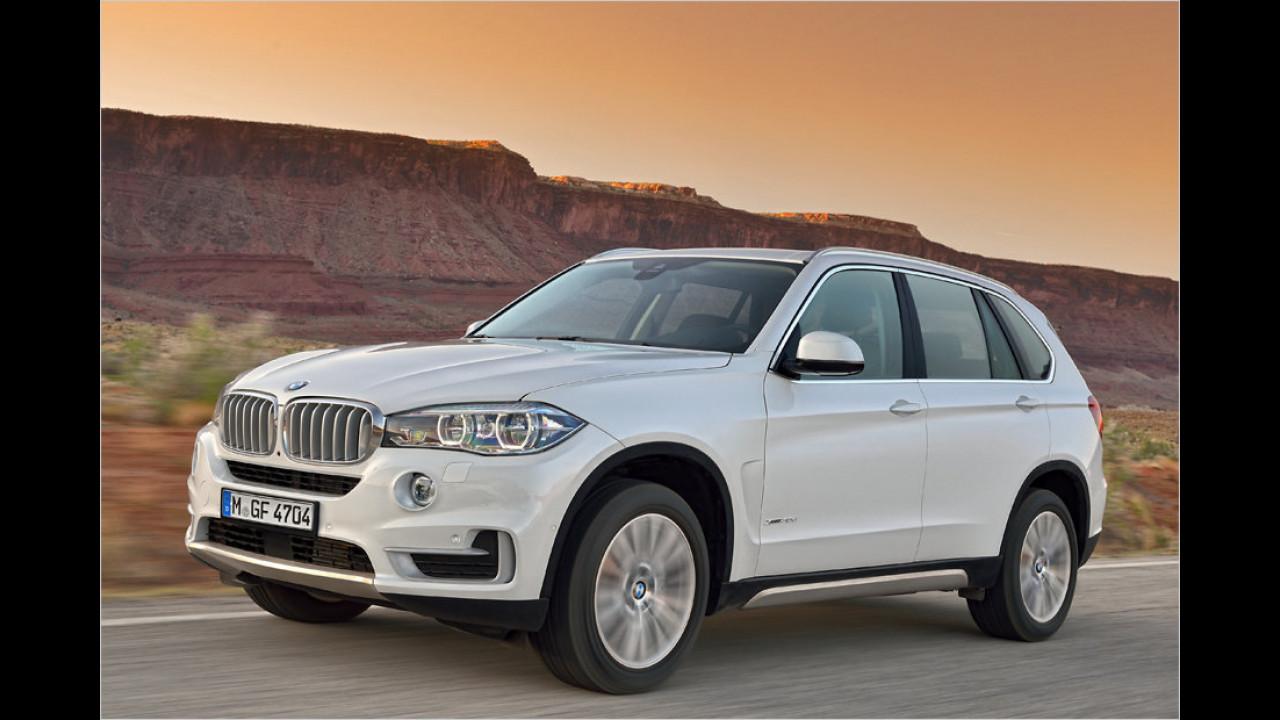 Obere Mittelklasse/SUV: BMW X5