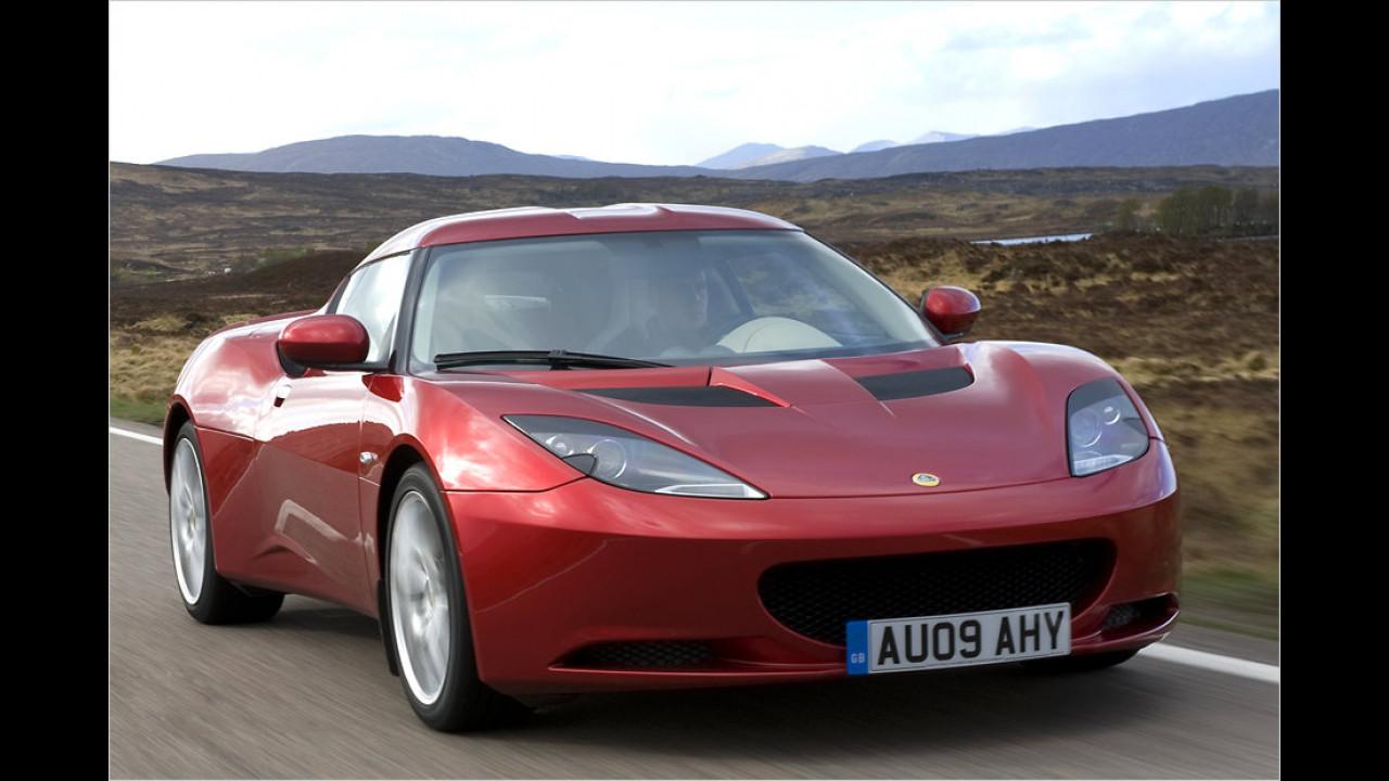Vom Evora verkaufte Lotus im Jahr 2013 ganze neun Stück in Deutschland. Soviele wurden jedenfalls im ganzen Jahr zugelassen