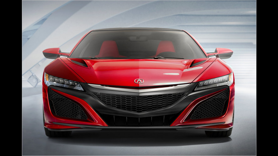 Honda auf Genfer Salon 2015: Civic Type R, NSX, Jazz, HR-V, FCV Concept