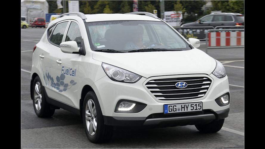 Wasserstoff-Auto geht in Serie