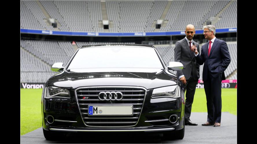 Pep Guardiola fährt künftig Audi S8