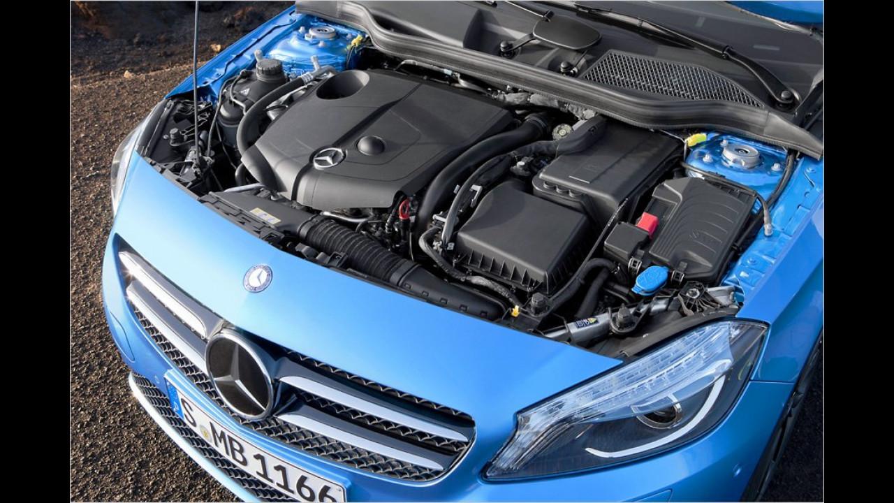 Motoren: Mercedes A-Klasse