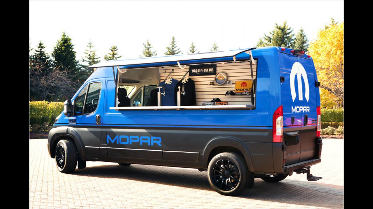 Dodge Ram Promaster Hospitality Van
