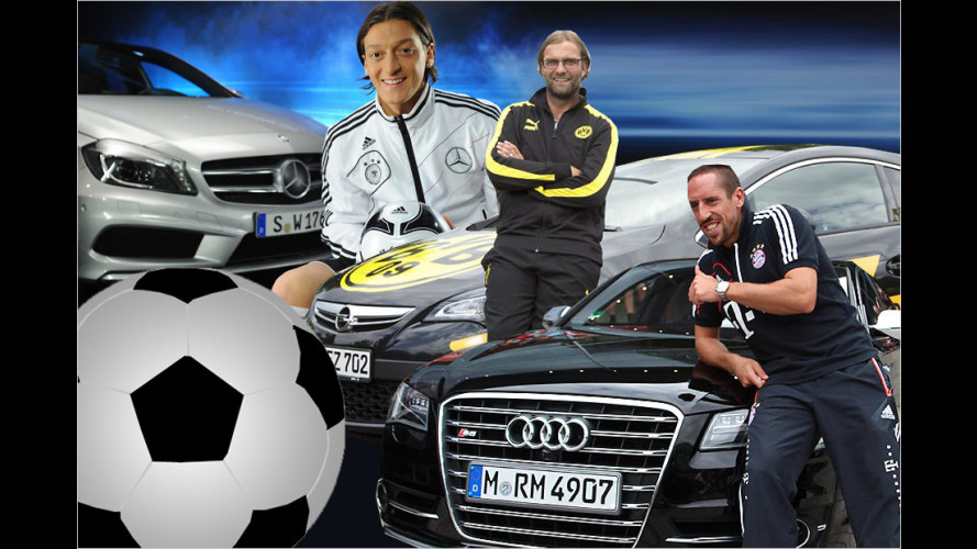 Fußball-Stars und ihre Autos