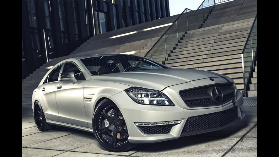 Tuner Wheelsandmore pusht den Mercedes Benz CLS 63 AMG