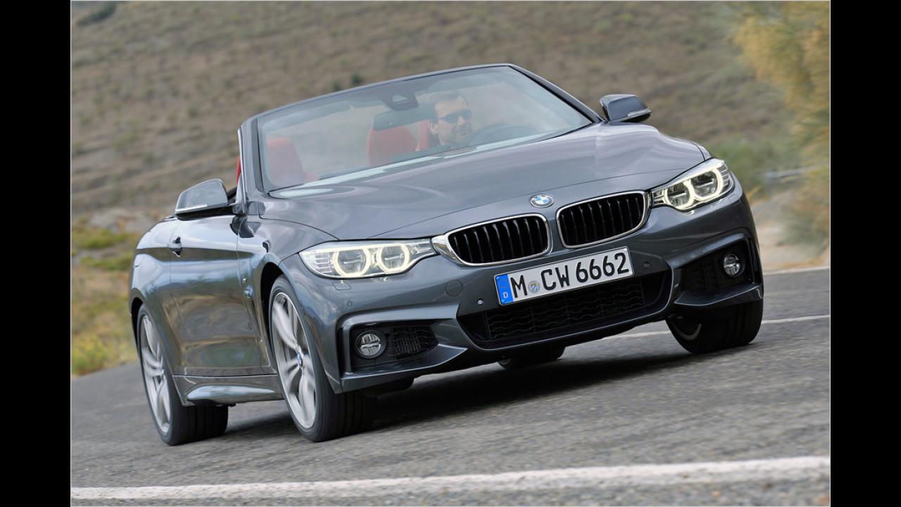 Platz 8: BMW 4er