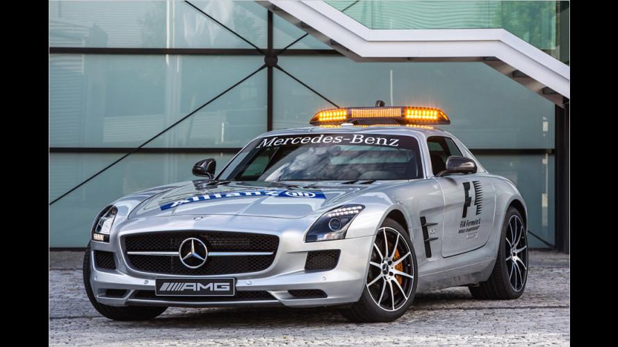 Mercedes fährt sicher vorneweg