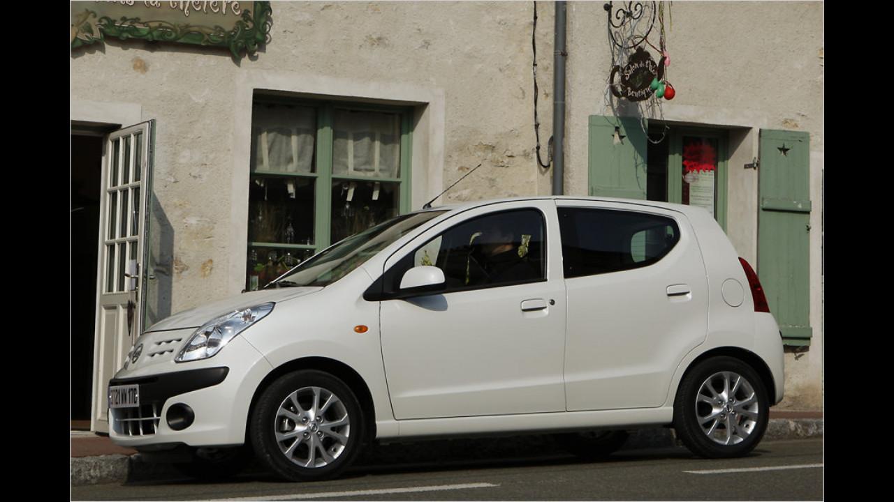 VCD Auto-Umweltliste,  geteilter Platz 10: Nissan Pixo 1.0, 7,03 Punkte
