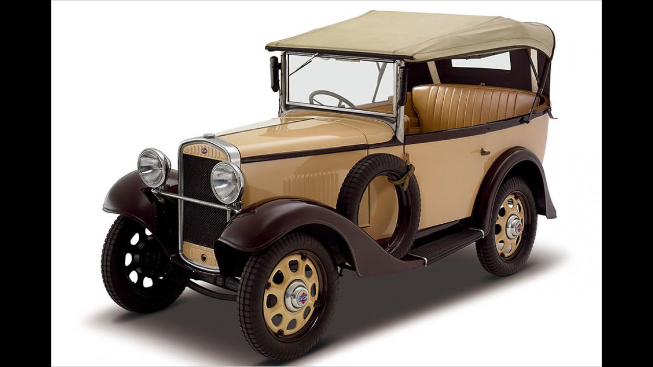 1914: Gründung von DAT/Datsun