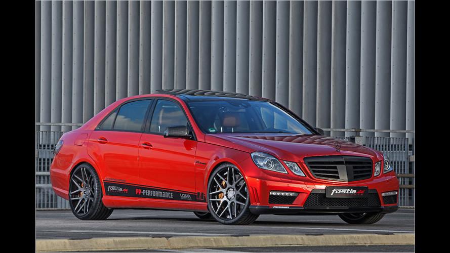 Fostla: Mercedes E 63 AMG mit Nachschlag