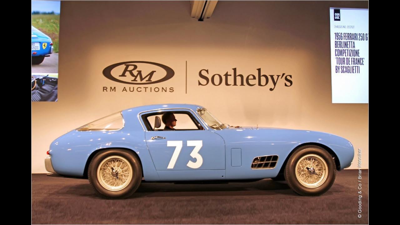 Platz 7: Ferrari 250 GT Tour de France, Baujahr 1956