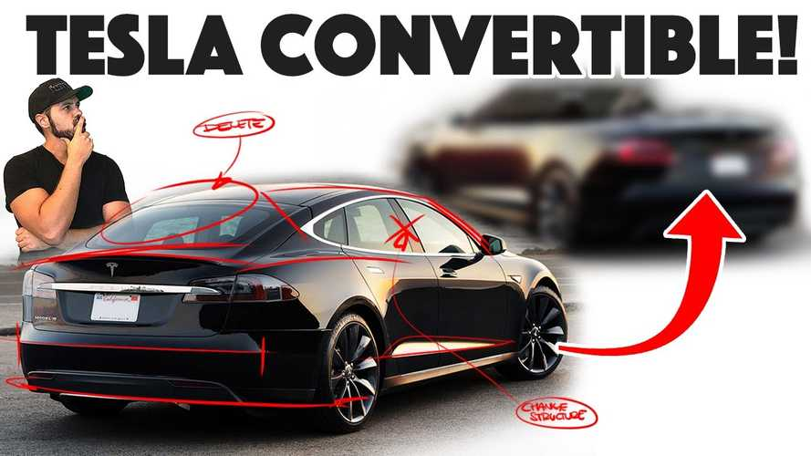 Tesla Model S Redesign Is A 2-Door Convertible? Video
