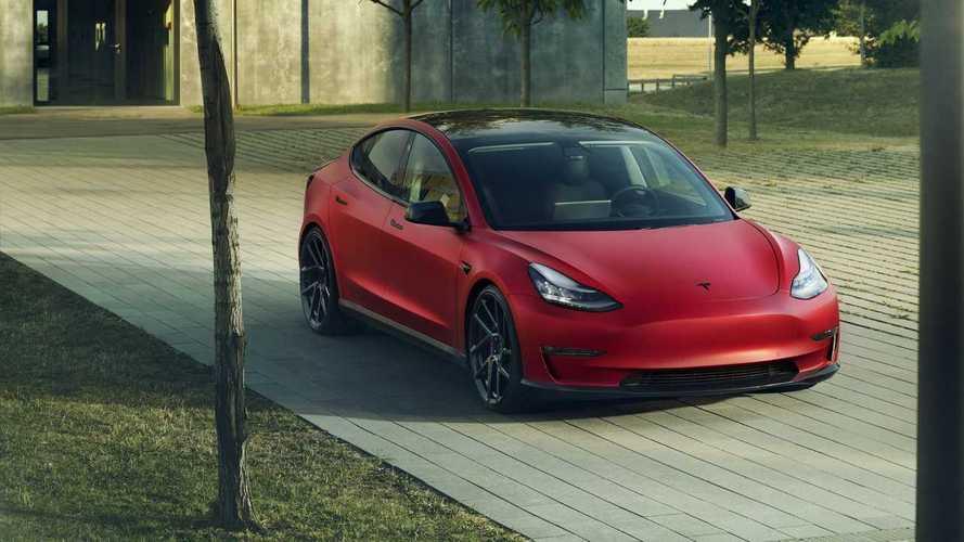 Egy több mint komoly Tesla Model 3