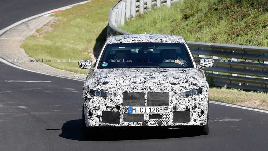 Photos espion de la BMW M3 sur la Nordschleife