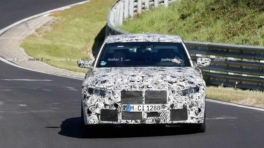 BMW M3 Erlkönig (2020)