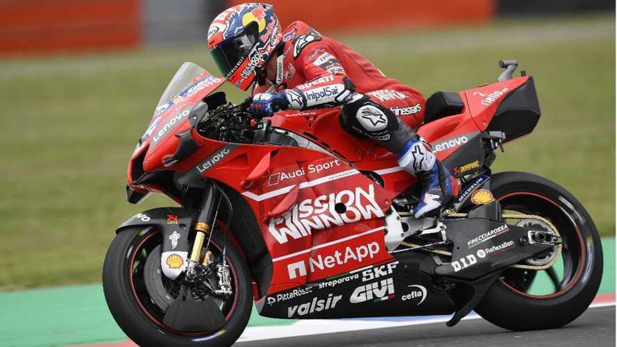Come frena un campione della MotoGP?