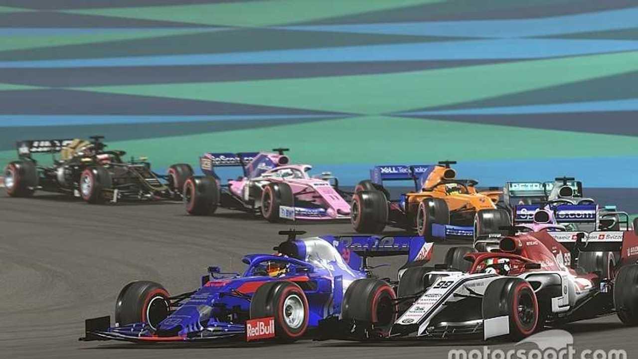 Videojuego F1 2019
