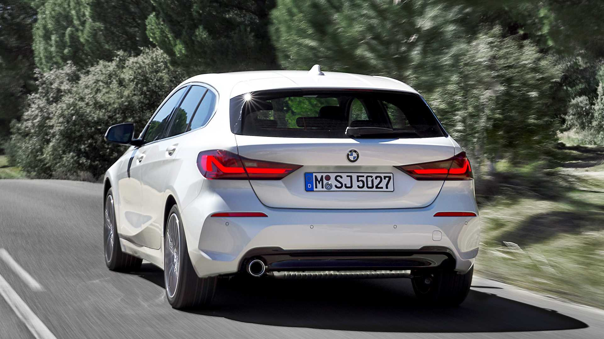 2020 Bmw 1 Series Revealed Along With M135i Hot Hatch