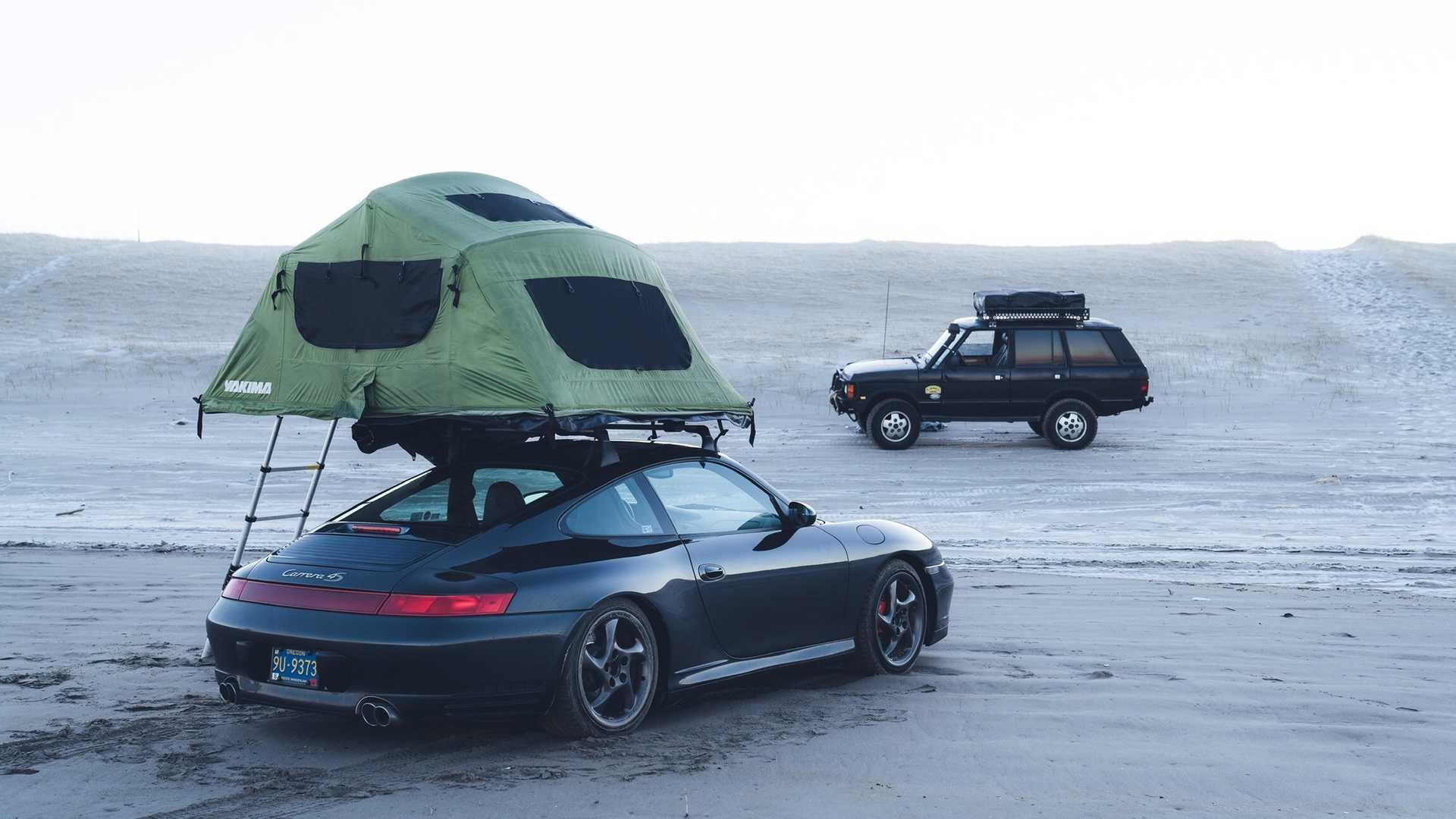 The Range Yakima >> Porsche 911 Topped With Tent Is Not A Typical Overlander [UPDATE]