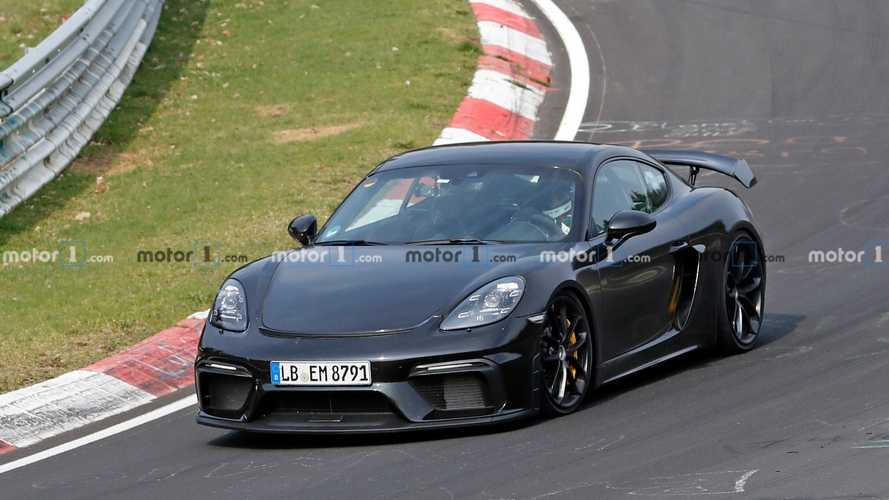 2020 Porsche Cayman GT4 Shows Too Much Skin In Latest Spy Shots