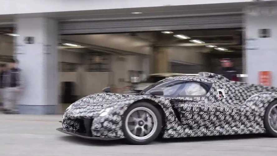 Toyota GR Super Sport hypercar prototype at Fuji Speedway