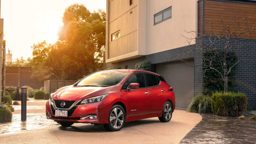 Second-Generation Nissan LEAF Lands In Australia