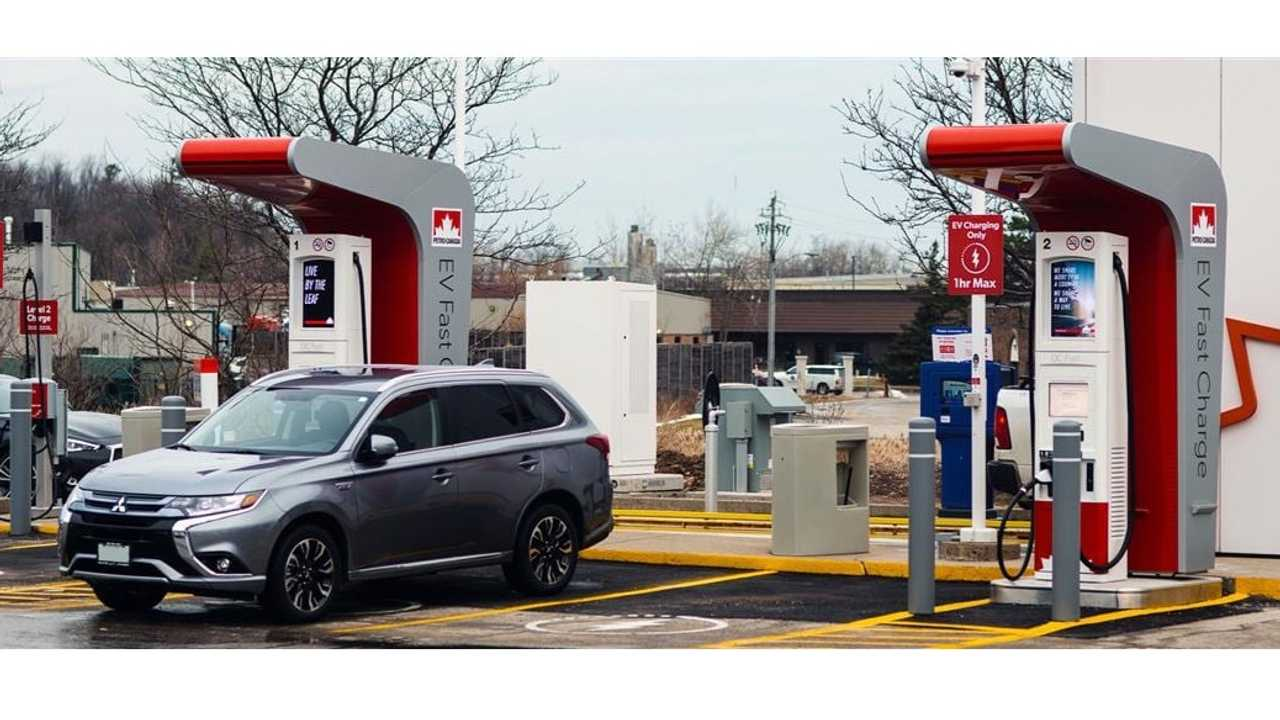 Petro-Canada charging station