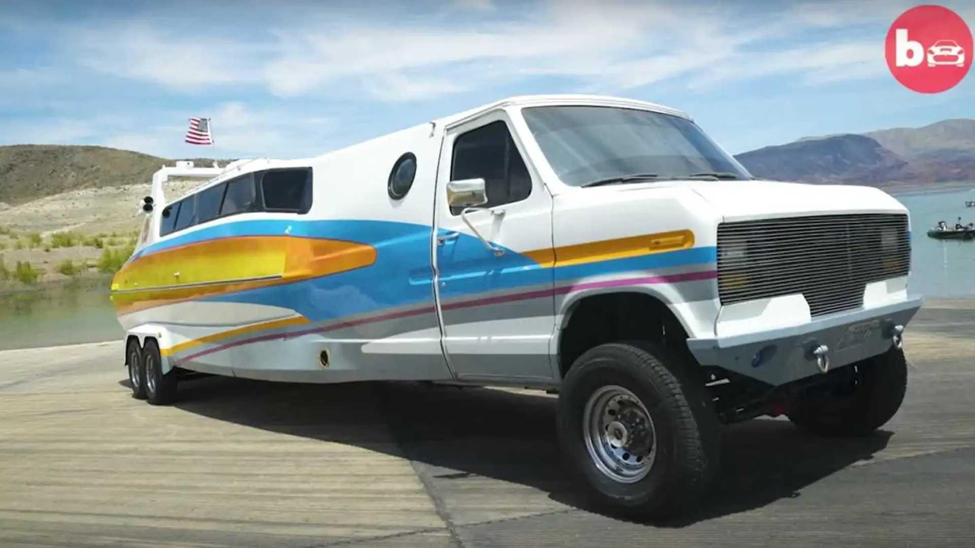 Boaterhome Is A Ludicrous Half Van, Half Boat Contraption