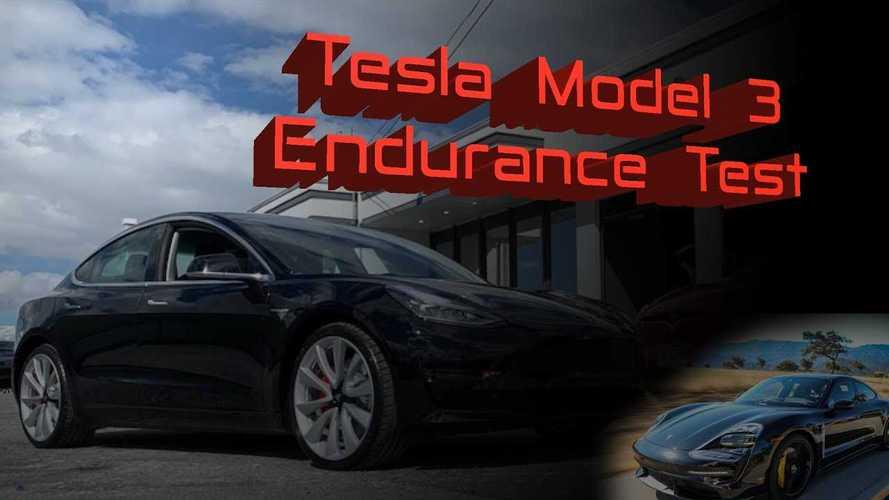 Può la Tesla Model 3 usare il launch control a raffica come la Taycan?