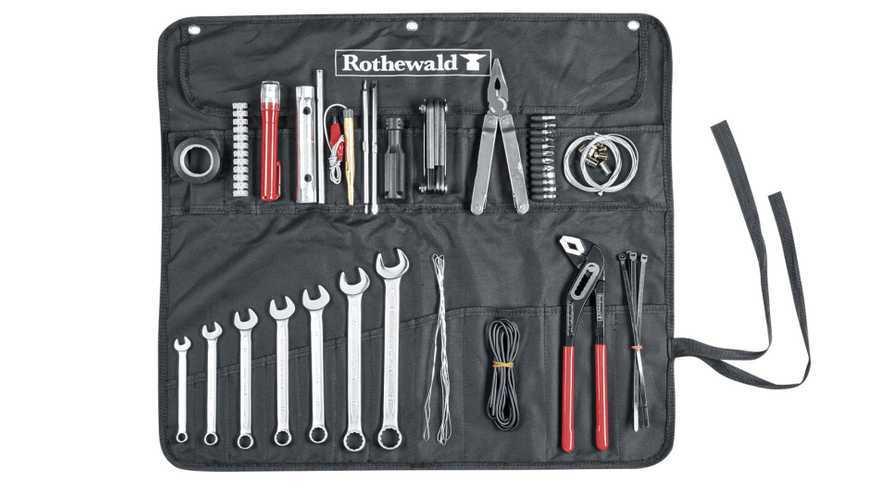 Rothewald presenta il nuovo kit di attrezzi da viaggio