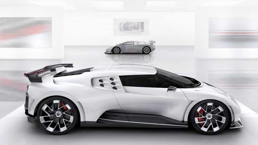 Bugatti Centodieci vs Bugatti EB110 - Différentes mais proches