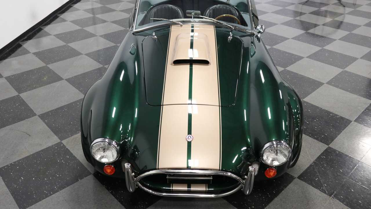 1965 Shelby Cobra Everett-Morrison Shines Like An Emerald