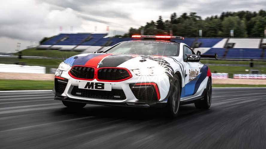 BMW M8 Safety Car, nata in pista per la pista
