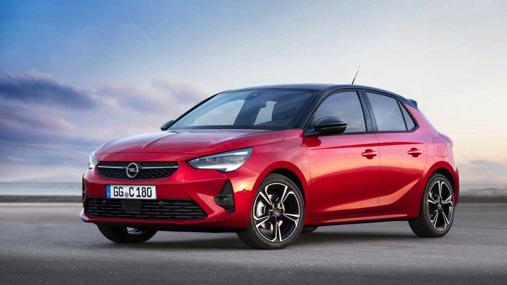 Экстерьер Opel Corsa