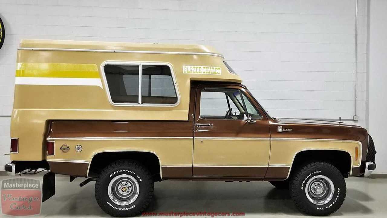 Chevy Blazer Chalet Camper