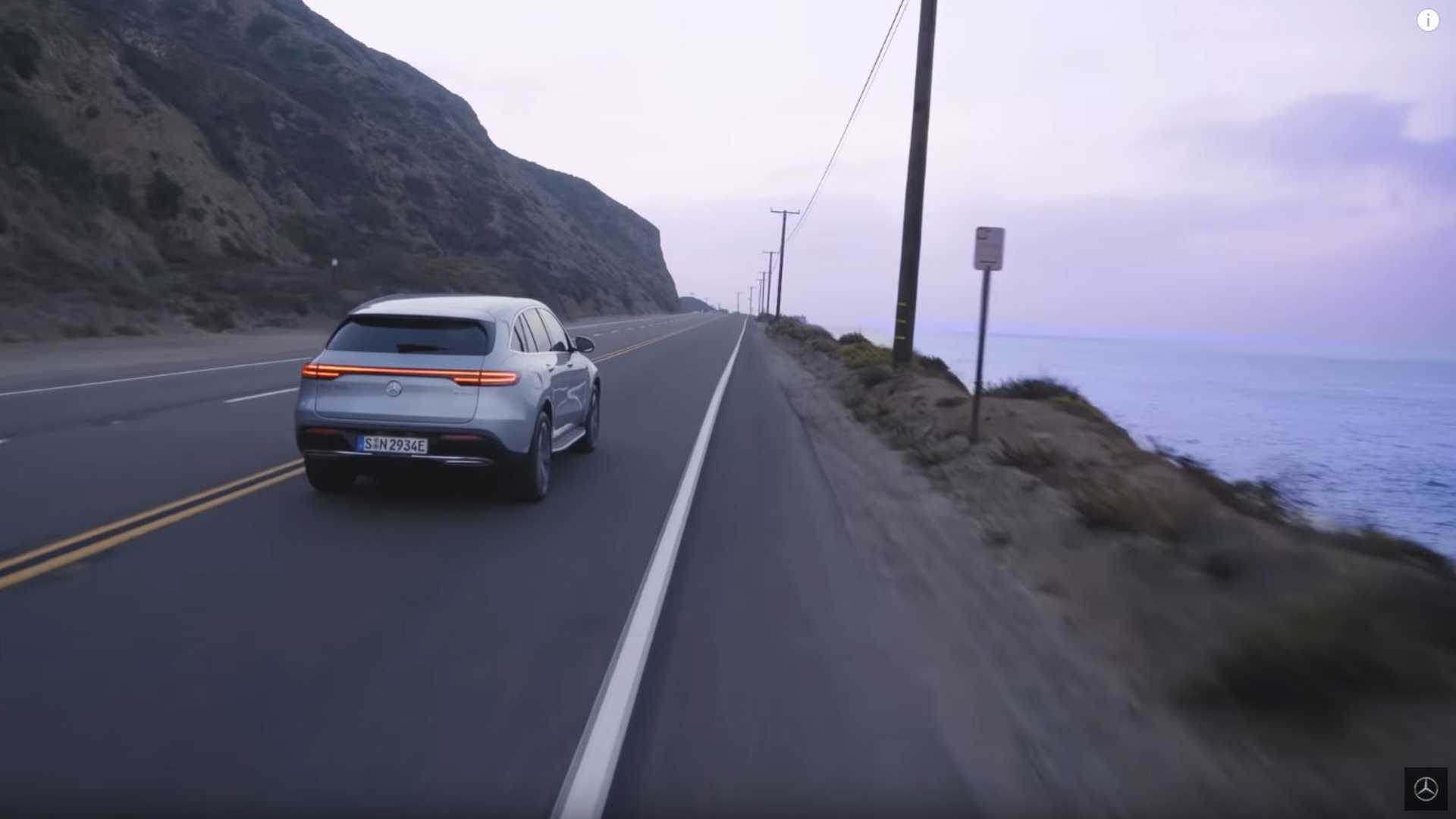 Mercedes-Benz Advertises EQC As Pure Driving Pleasure: Video