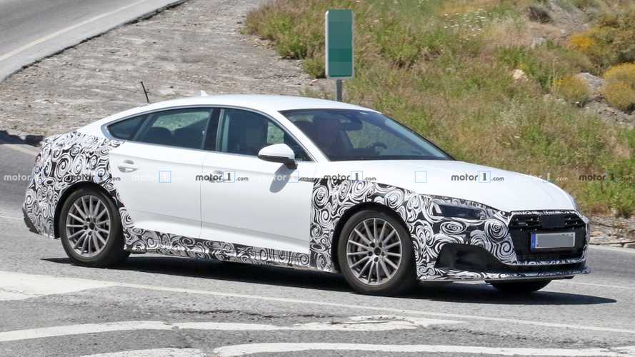 2020 Audi A5 Sportback Facelift Spotted Hot-Weather Testing