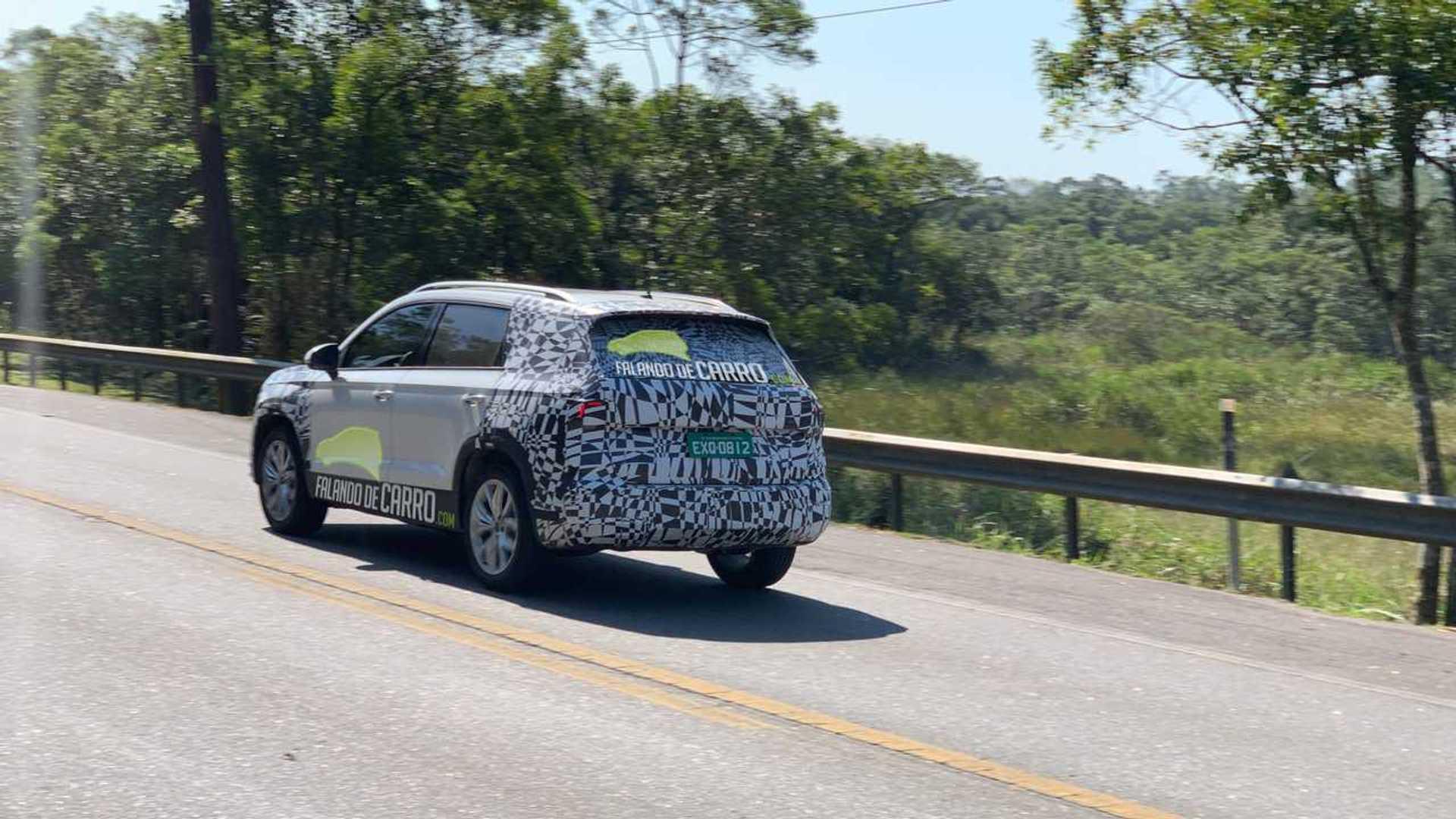 Flagra: VW Tarek no Brasil