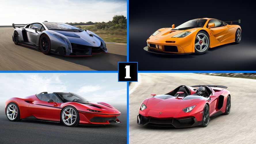 10 vehículos de los que se han fabricado menos de 10 unidades