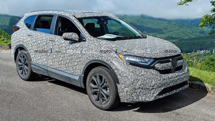 2020 Honda CR-V photos espion