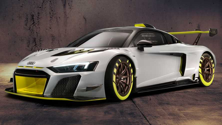 Videón a 2020-as R8 LMS GT2, az Audi 630 lóerős versenygépe