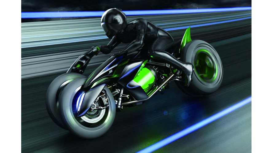 The Future Electric Kawasaki Could Be A Ninja?