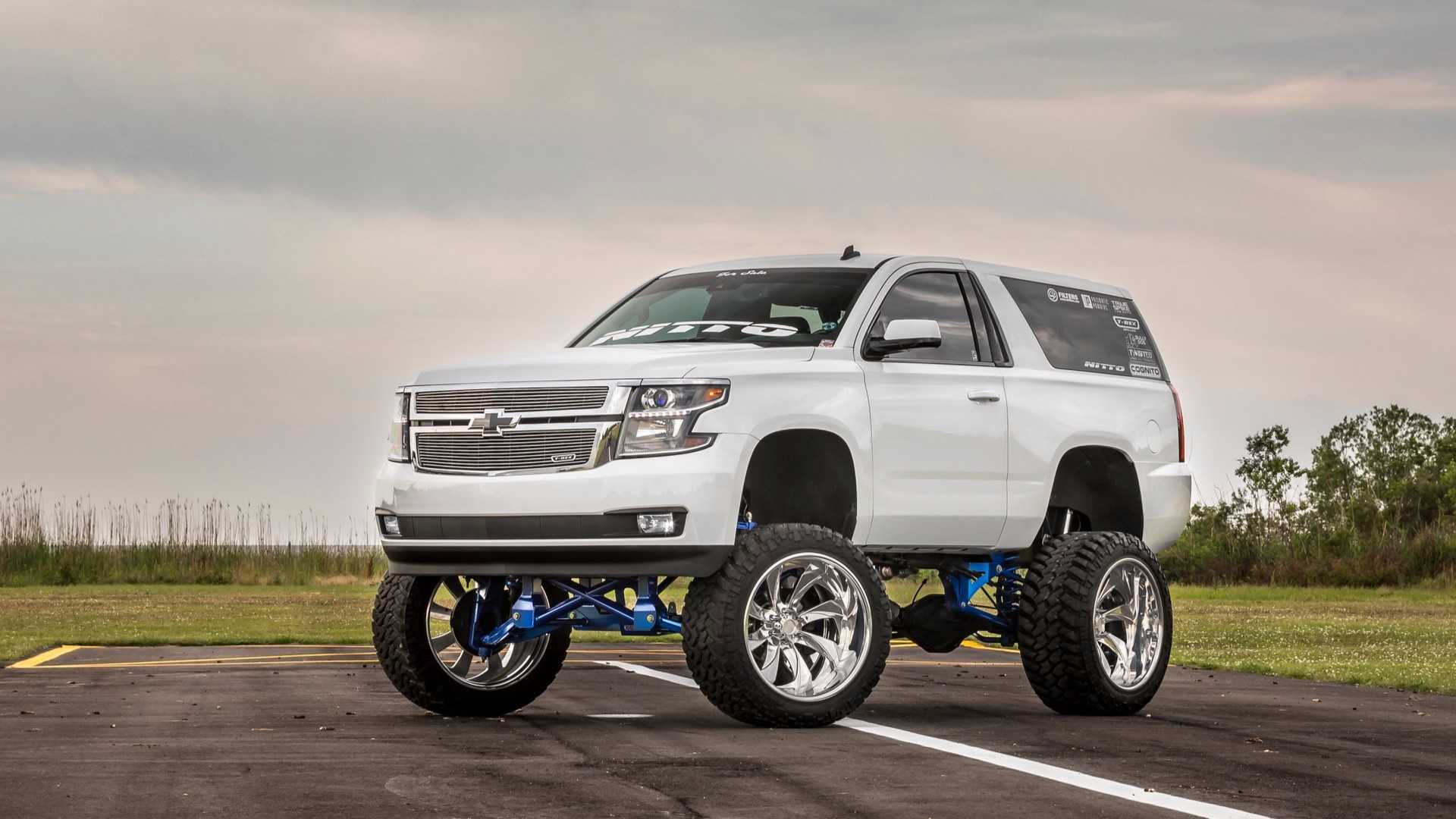 "[""2015 Sema Build Chevrolet Tahoe Suburban""]"