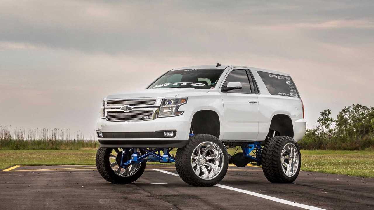 2015 Sema Build Chevrolet Tahoe Suburban
