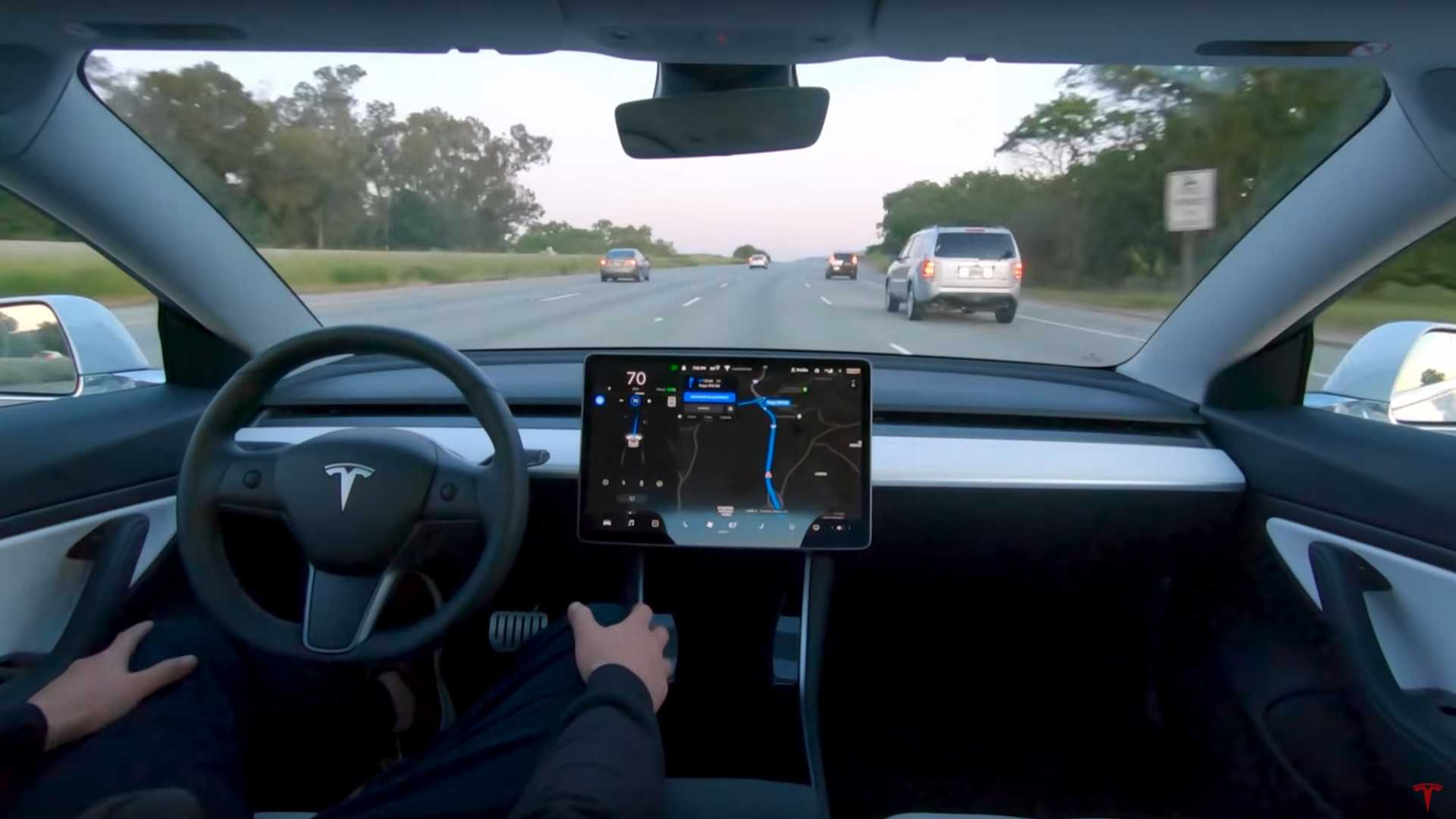 Tesla Releases Full Self Driving Video