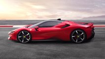 tesla roadster compared ferrari sf90 stradale phev
