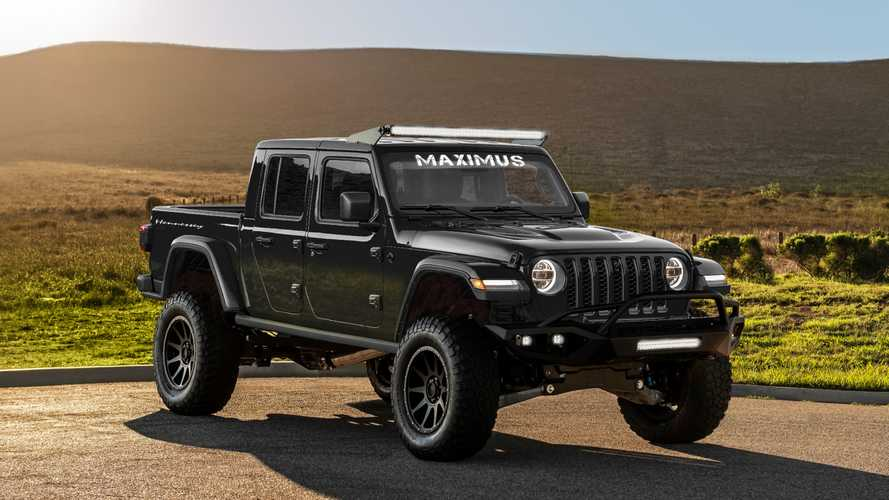 Jeep Gladiator Gets 1,000-HP Hellcat Makeover From Hennessey