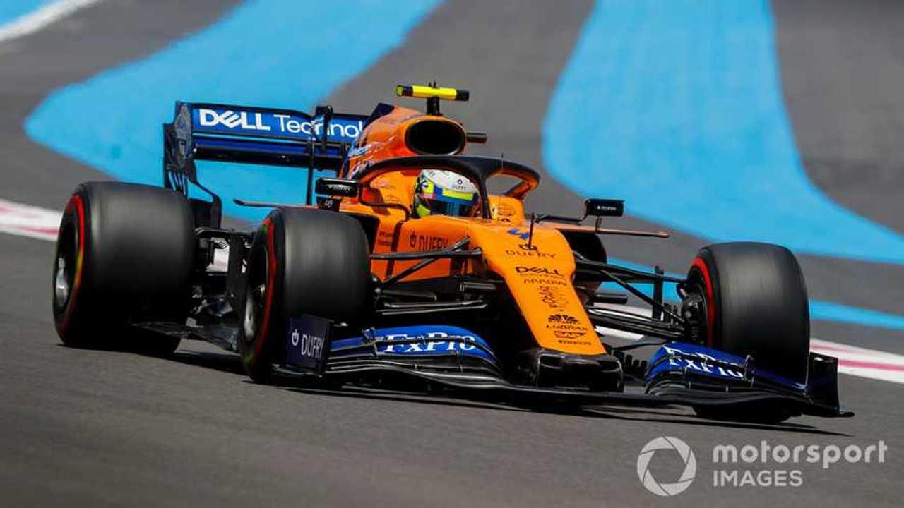 Lando Norris at French GP 2019