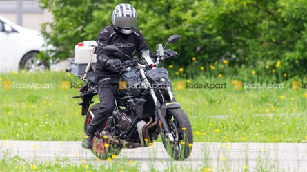 Spotted: Updated Yamaha MT-07 Going For A Stroll
