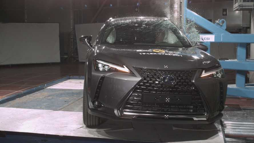 Lexus UX, Euro NCAP crash test